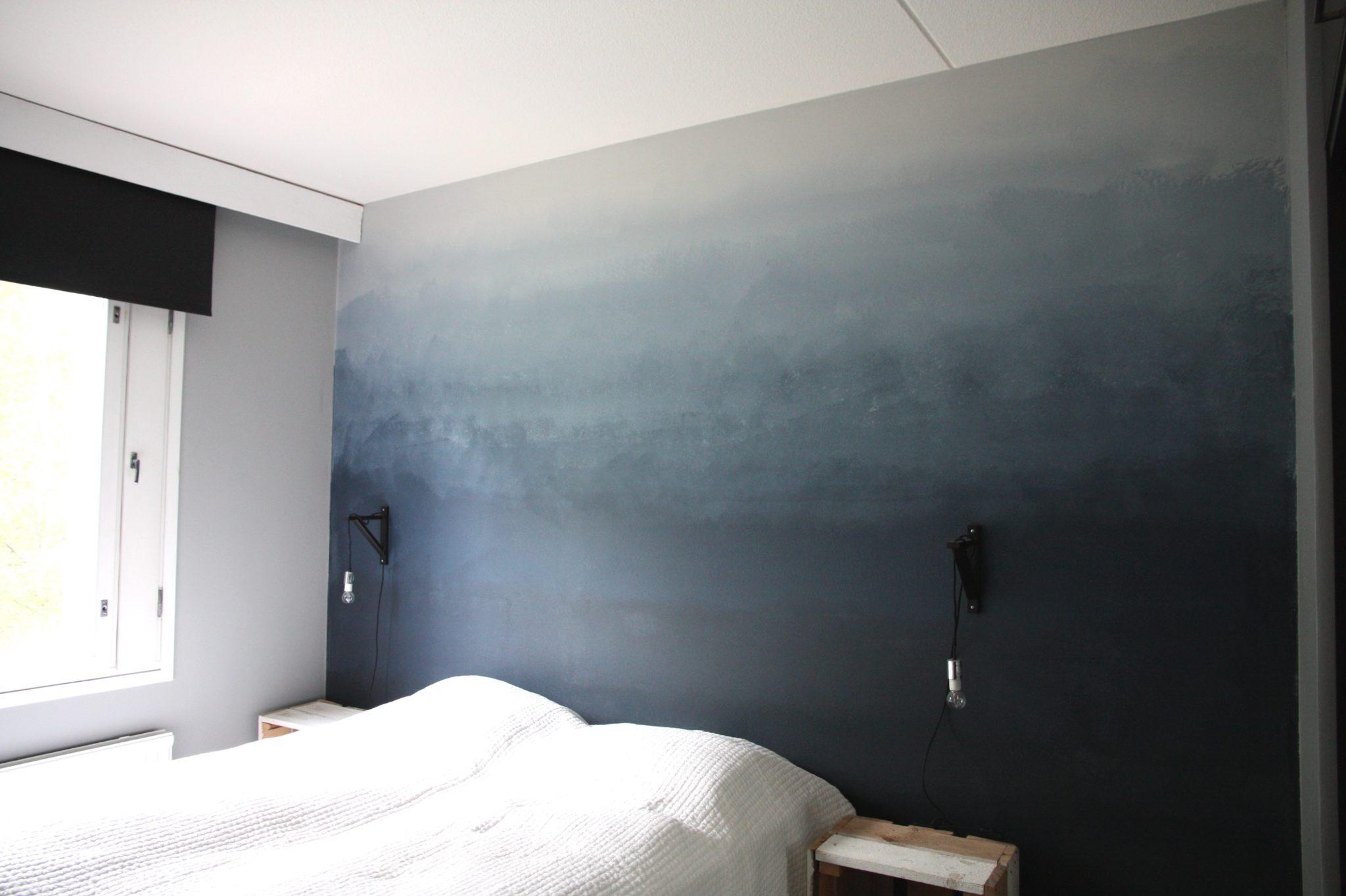 diy liukuvärjätty seinä