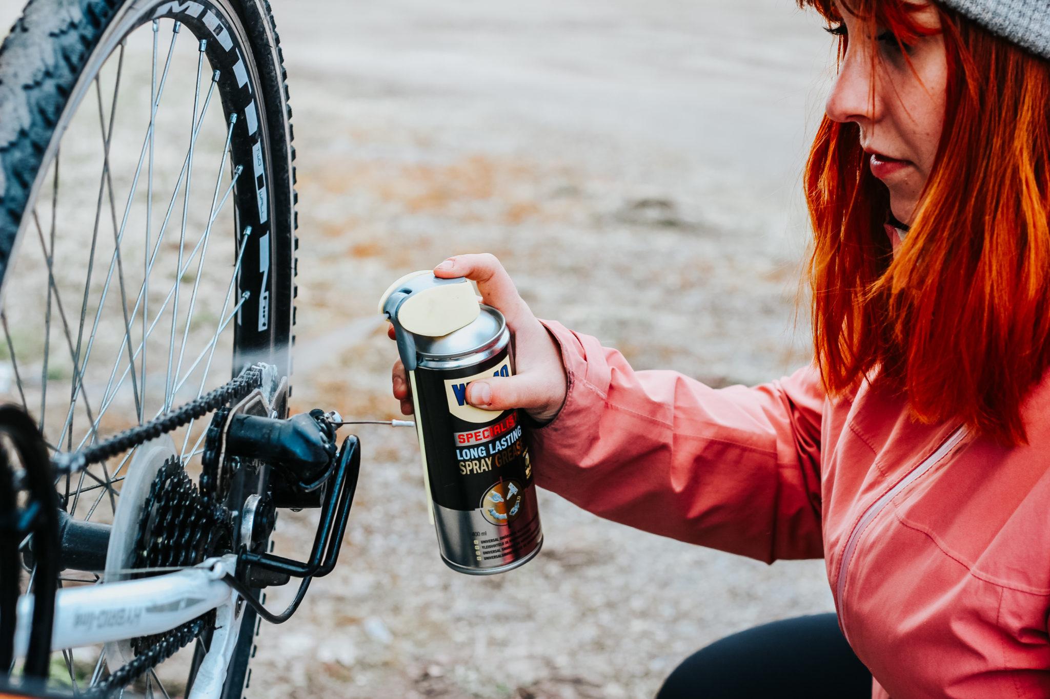 WD-40 Specialist Long Lasting spray grease pitkäkestoinen voiteluaine polkupyörän ketjujen öljyäminen